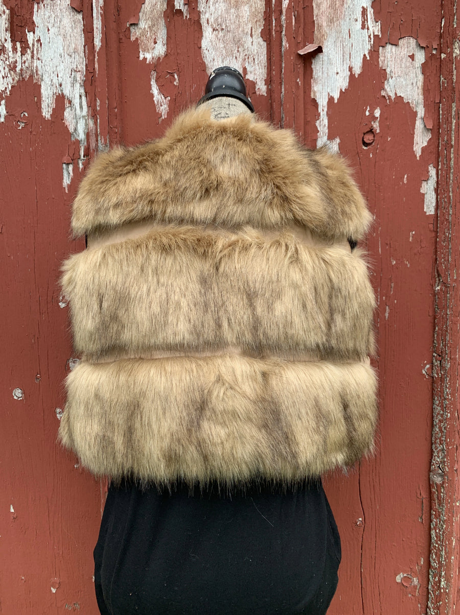 Gold Coast Faux Fur Vest