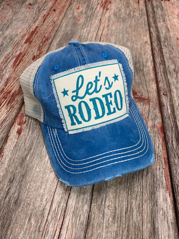 Let's Rodeo Patch Cap