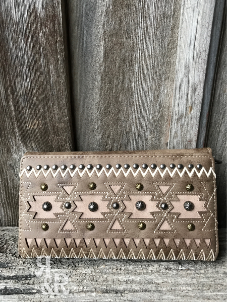 Aztec Studded Purse or Wallet