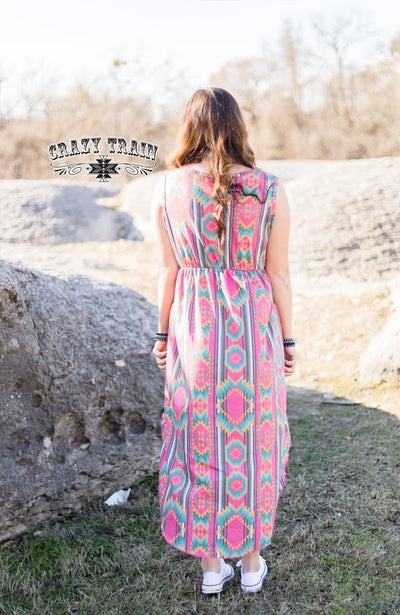 The Highs & Lows Aztec Tank Tunic