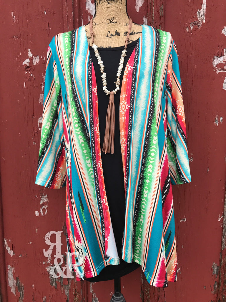 Leather Tassel White Turquoise Necklace Set