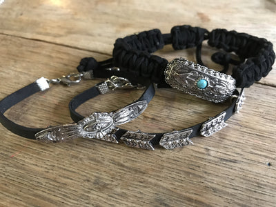Boho Wrap Bracelet - Ropes and Rhinestones