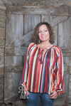Serape Stripe Blouse