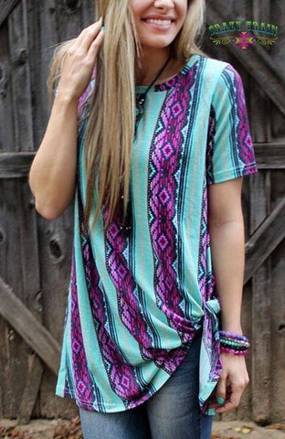 You're Not Dreaming Serape Knot Top