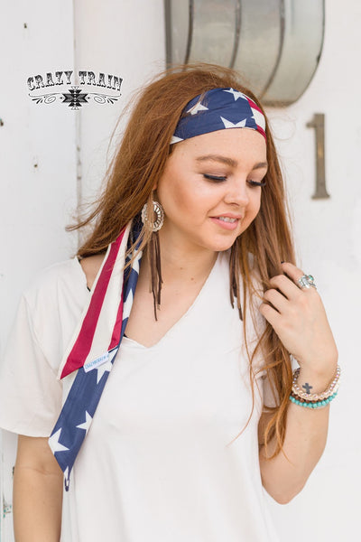 Starwest Headscarf Stars & Stripes