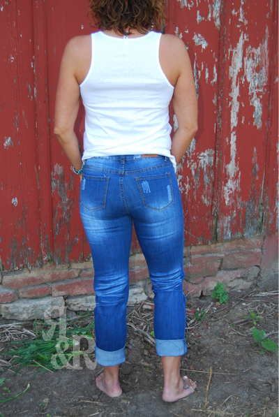 Cow Skull Patch Jeans - Ropes and Rhinestones