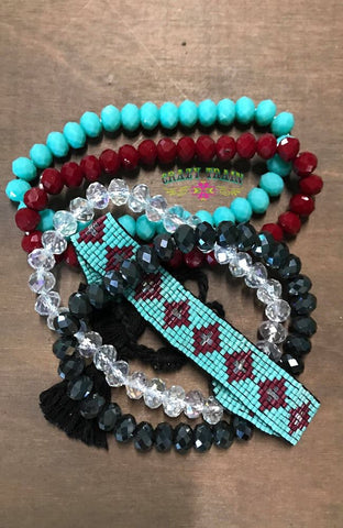 Rodeo Tough Bracelet Set