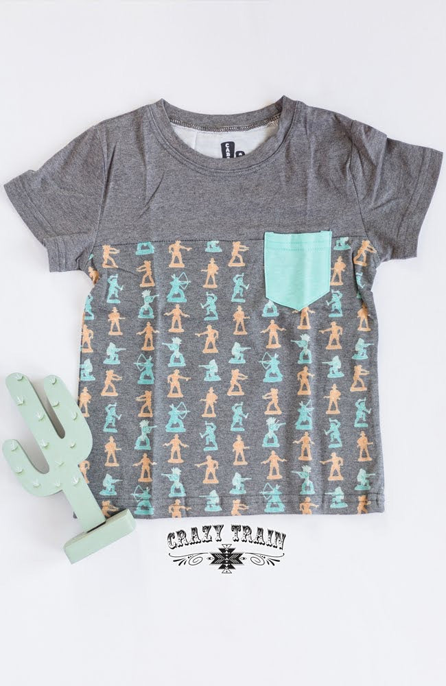 Cowboys & Indians Kids Tee