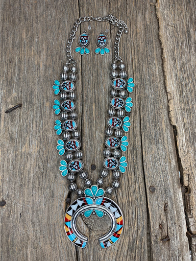 Senorita Squash Blossom Necklace Set
