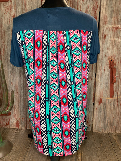 There's Always Two Sides Aztec Top