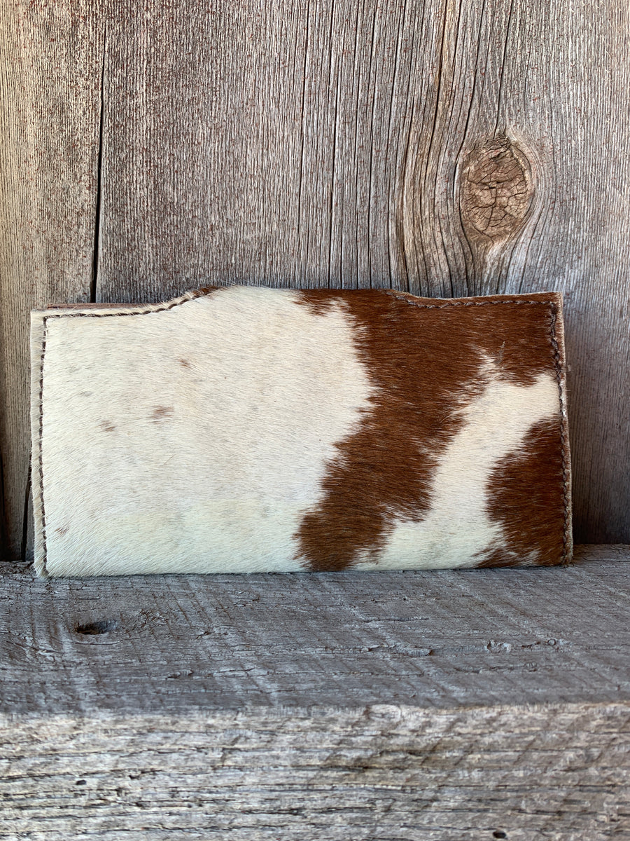 Cowhide Snap Wallet