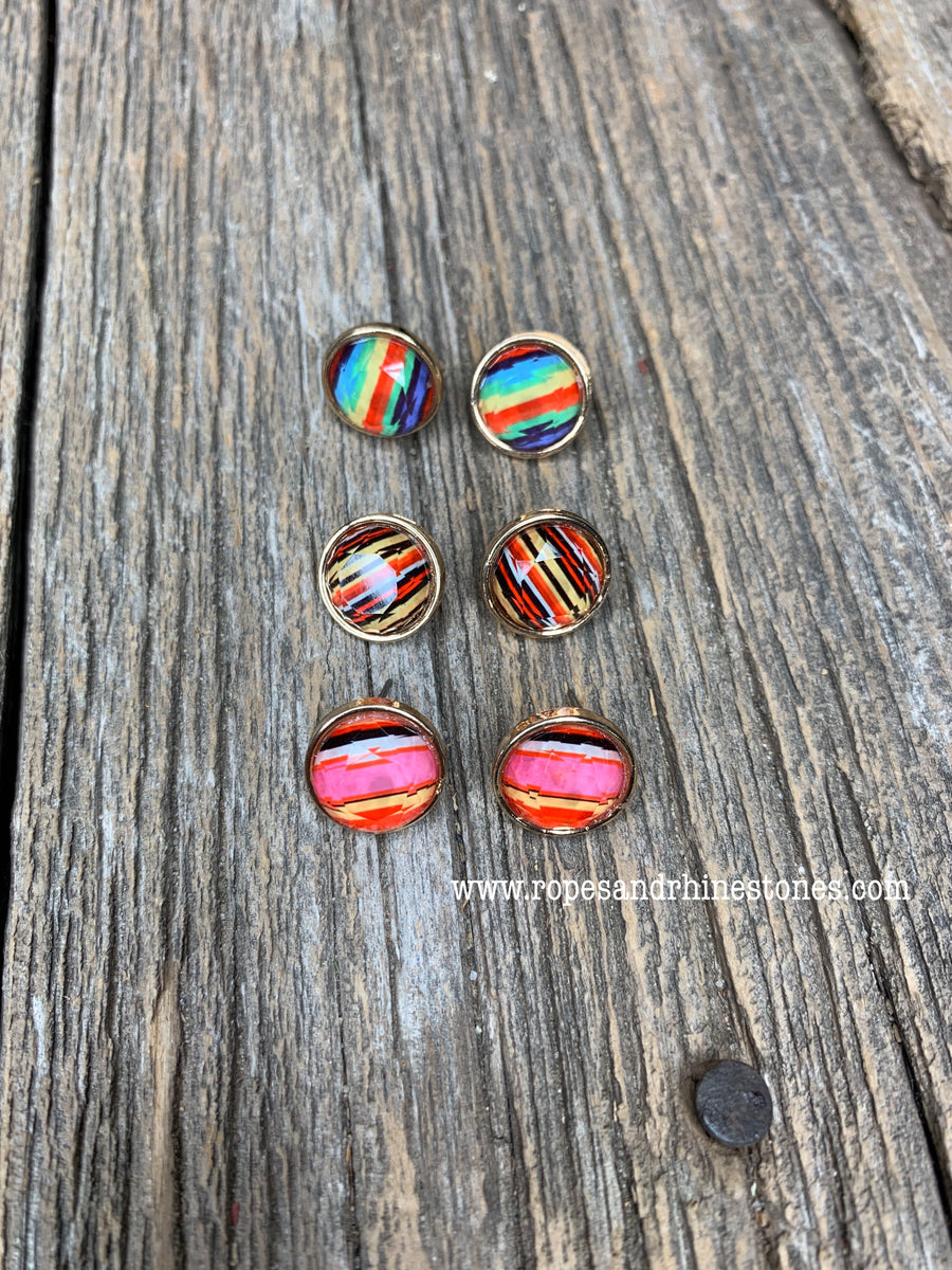 Serape Earring Set