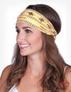 Cowgirl Tuff Yellow Headband