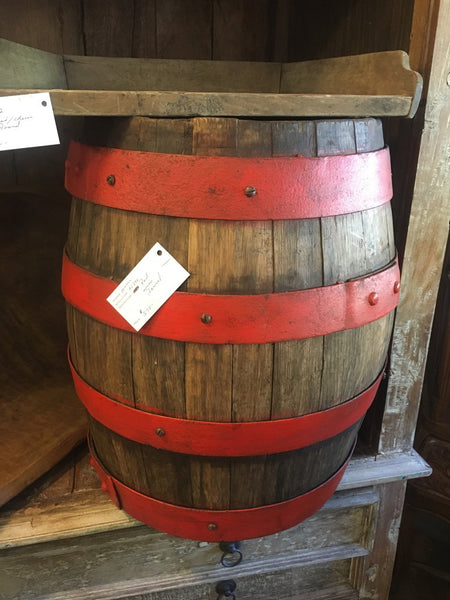 Red Wine Barrel