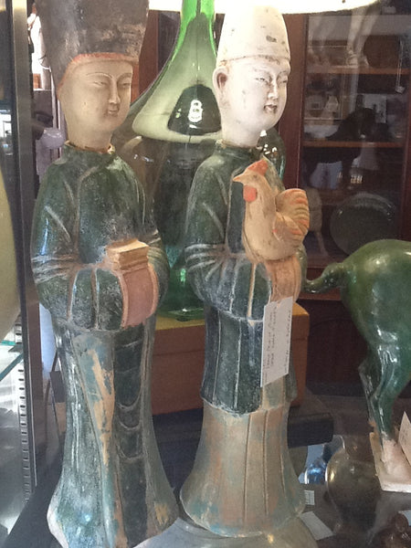 Ming Dynasty Robed Figures SOLD