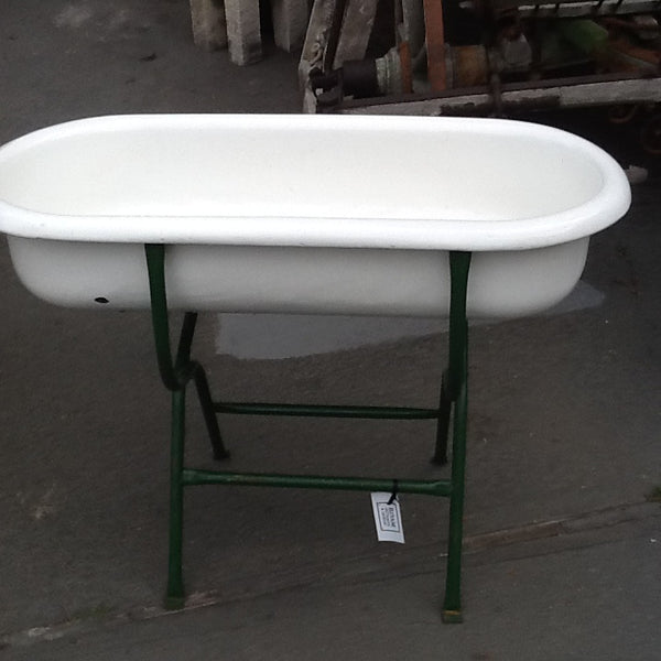 Porcelain Steel Baby Bath from Hungary