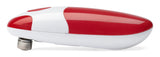 Bartelli Soft Edge Automatic Electric Can Opener - Red Battery Powered