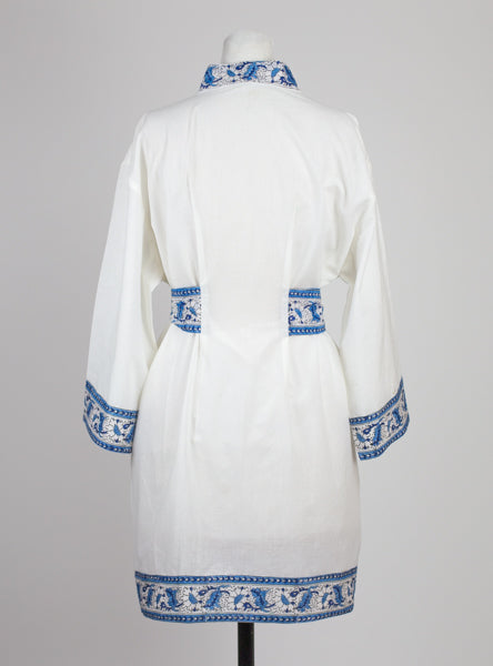 White Short Robe