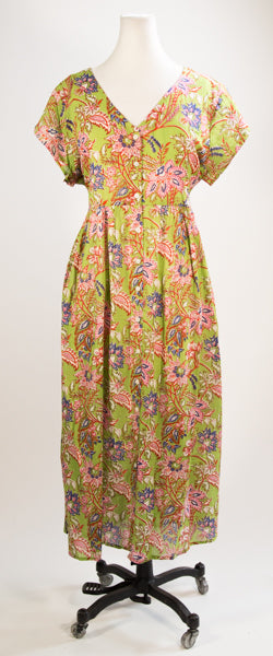 Green Garden Day Dress