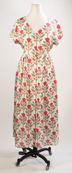 Red Rose Day Dress