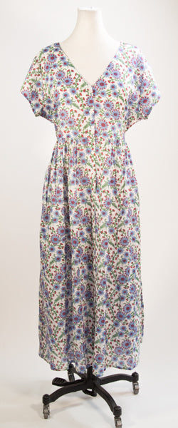 Blue Aster Day Dress