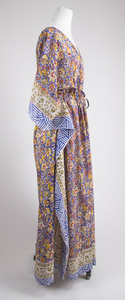 Red, Yellow and Blue Kaftan