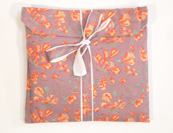 Orange Wallflower Pajamas