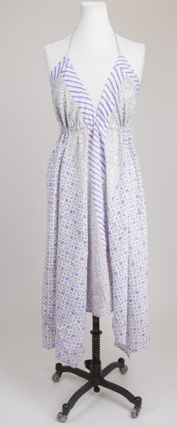 Sundress  - Purple and Grey