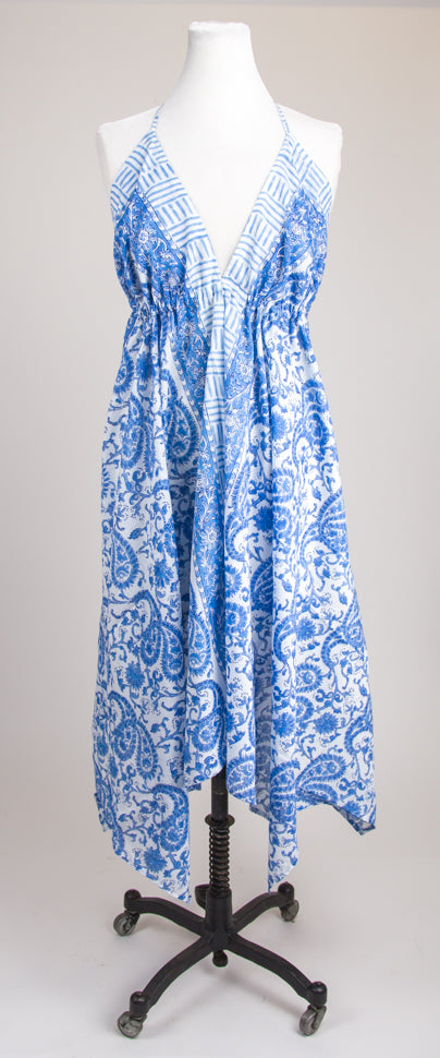 Sundress  - Blue Paisley