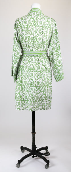 Short Green Goddess Robe S/M