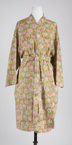 Pink Blossom Robe