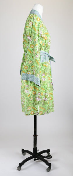 Short Chartreuse Robe S/M