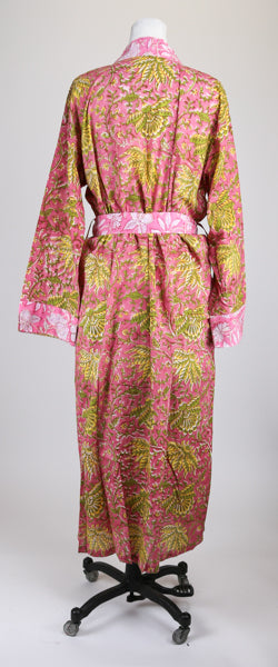 Pink and Green Robe M/L
