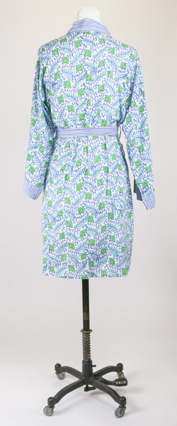Short Blue and Teal Robe M/L