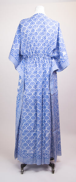 Kaftan - Blue Arc