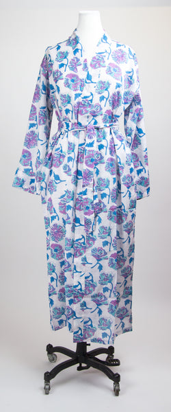 Purple Bouquet Robe M/L