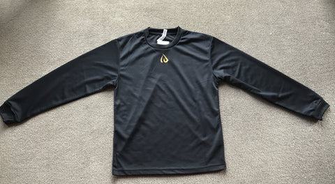 "ID one ""Glimmer Dry"" Long sleeve T shirt"