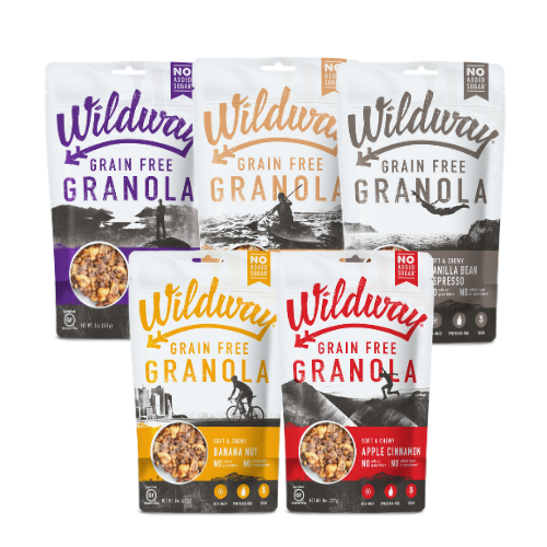 Press Release: Wildway Grain-free Granola Now Available at Hannaford Supermarkets