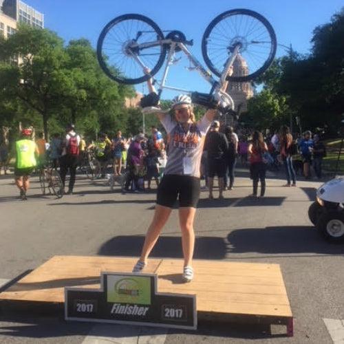 Wildway Crew Stories: Caroline Barrett (Cycling for a Cure)