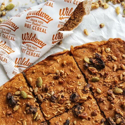 Paleo recipe sweet potato blondies