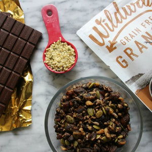 Dark Chocolate Espresso Granola Bark