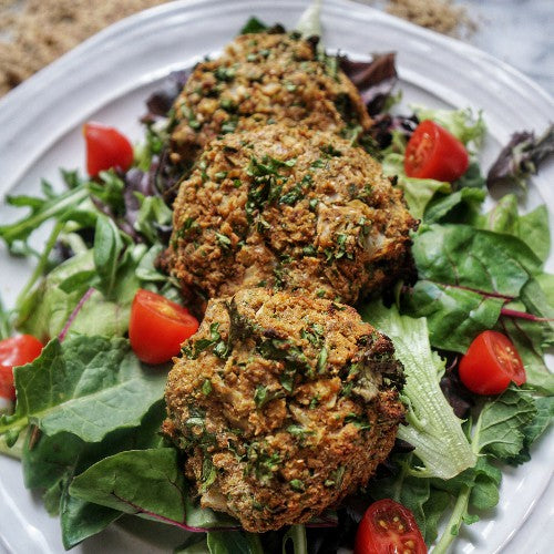 paleo and vegan cauliflower falafel