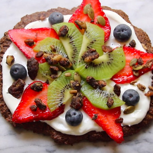 gluten-free fruit pizza - fruity summer pizza recipe