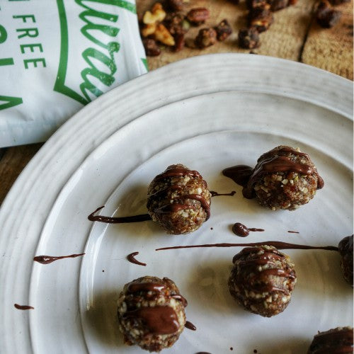 Paleo Chocolate Gingerbread Truffles Recipe