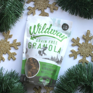 Gingerbread Granola is BACK! And this year it's for a great cause