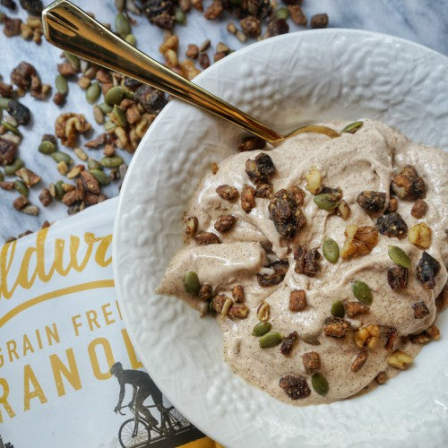 vegan banana nut nice cream recipe