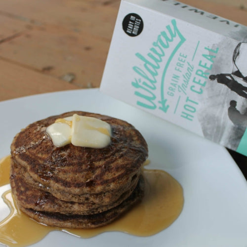 grain free blueberry pancake recipe