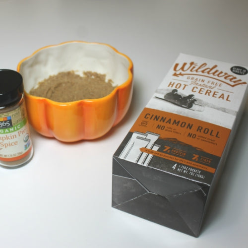 grain free pumpkin pie hot cereal