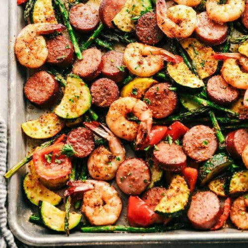 easy, quick and healthy one sheet pan meals