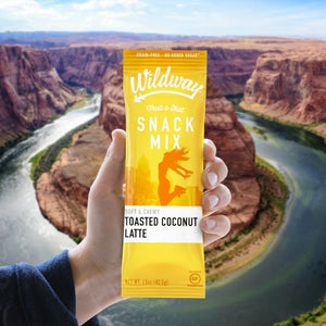 Introducing Wildway Fruit & Nut Snack Mixes